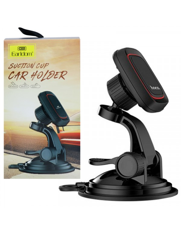 Earldom ET-EH47 Universal Suction cup Powerful Magnetic holder with 360° rotation