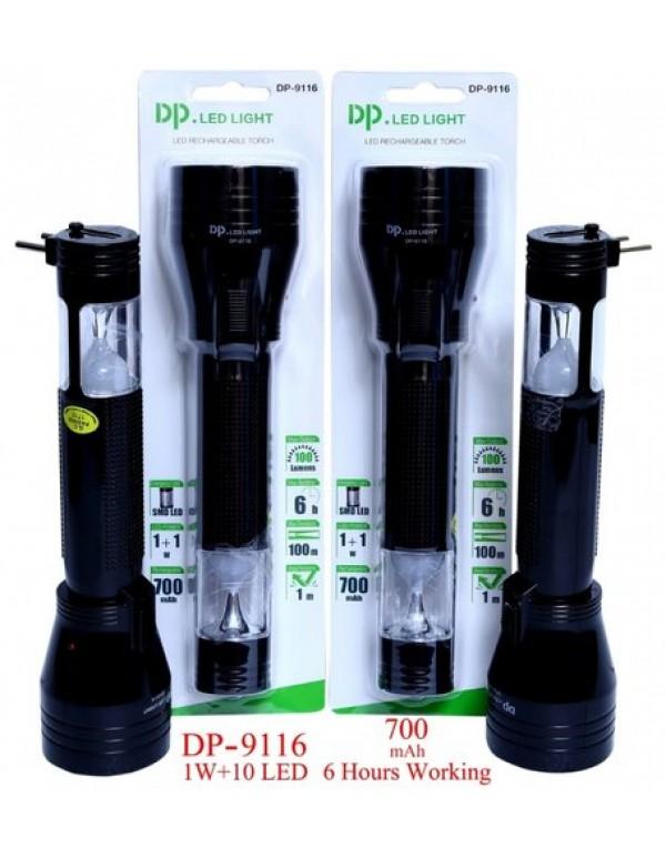 DP Led Light, Rechargeable Torch DP-9116