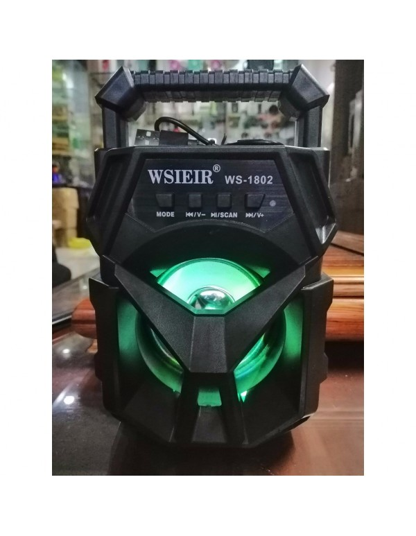 WSIEIR Portable Wireless Bluetooth Mini Speaker Bass, WS-1802/WS-1803